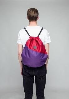Fioletowy plecak - Lootbag ...
