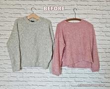 jak przerobić sweter diy