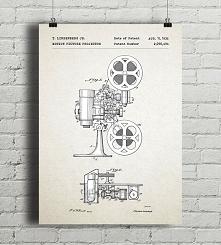 Projektor filmowy - patent ...