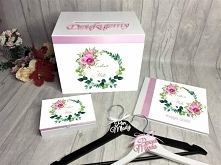 zestaw ślubny z kwiatami