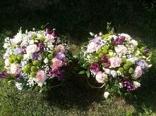 flower boxy ślubne podzięko...