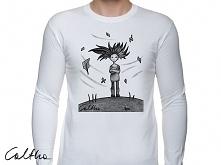Wietrzna - męska koszulka z...