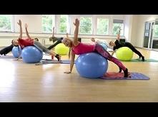 Pilates mit dem Gymnastikba...