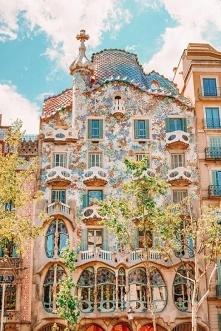 Hiszpania, piękny budynek C...