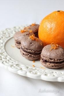 Makaroniki czekoladowe z po...