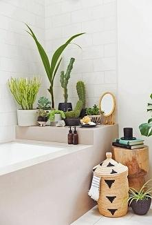 zielono w łazience :)