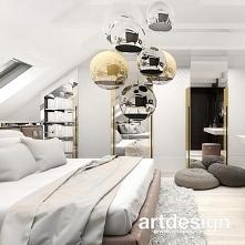 Pomysł na elegancką aranżację sypialni na poddaszu | ANTHOLOGY #20 | Wnętrza domu