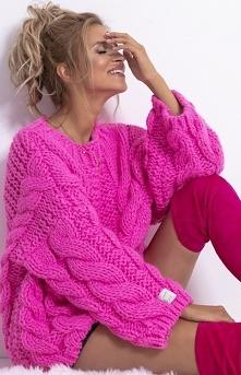 Fobya Ciepły sweter z wełny...
