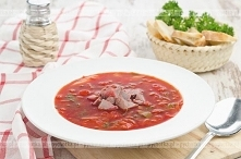 Zupa rybna z pomidorami i p...