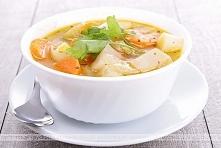 Zupa ziemniaczana farmerska