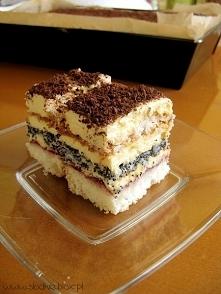 Ciasto makowo – kokosowe