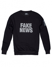 Bluza Męska Crewneck Fake News