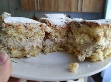 Cześć, dzisiaj wstawiam pierwszą zszywkę na moją tablicę ' Z życia wzięte'. Uwielbiam to ciasto, czyli ciasto cappuccinowe.