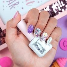 Kolorowa inspiracja paznokc...