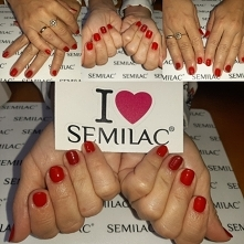 Neonail Sexy Red, Semilac 026
