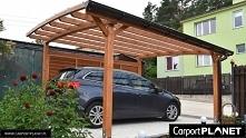 Wiata garażowa drewniana wolnostojaca projekt olx z wykorzystaniem drewnianej...