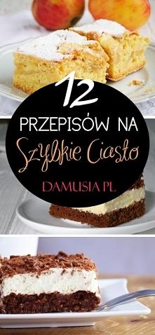 TOP 12 Przepisów na Szybkie...