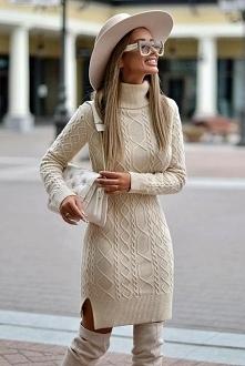 sweter w wersji sukienki ❤