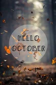 Hello october! :)