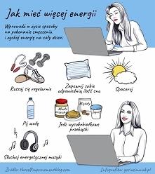 jak mieć więcej energii?