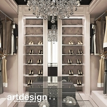 Elegancka, klasyczna aranżacja garderoby - też marzycie o takiej? | POWER OF DESIGN | Wnętrza domu