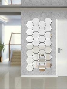 Lustro dekoracyjne, które możesz przykleić tworząc dowolne kształty Producent 4fundesign.com