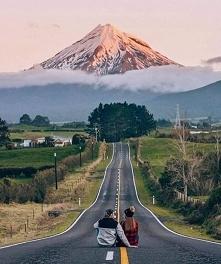 Wulkan Taranaki w Nowej Zel...