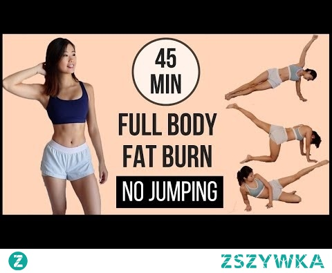 45-min Full Body Fat Burn HIIT at home with NO JUMPING (Arms, Abs, Back, Thighs & Legs) ◆ Emi ◆