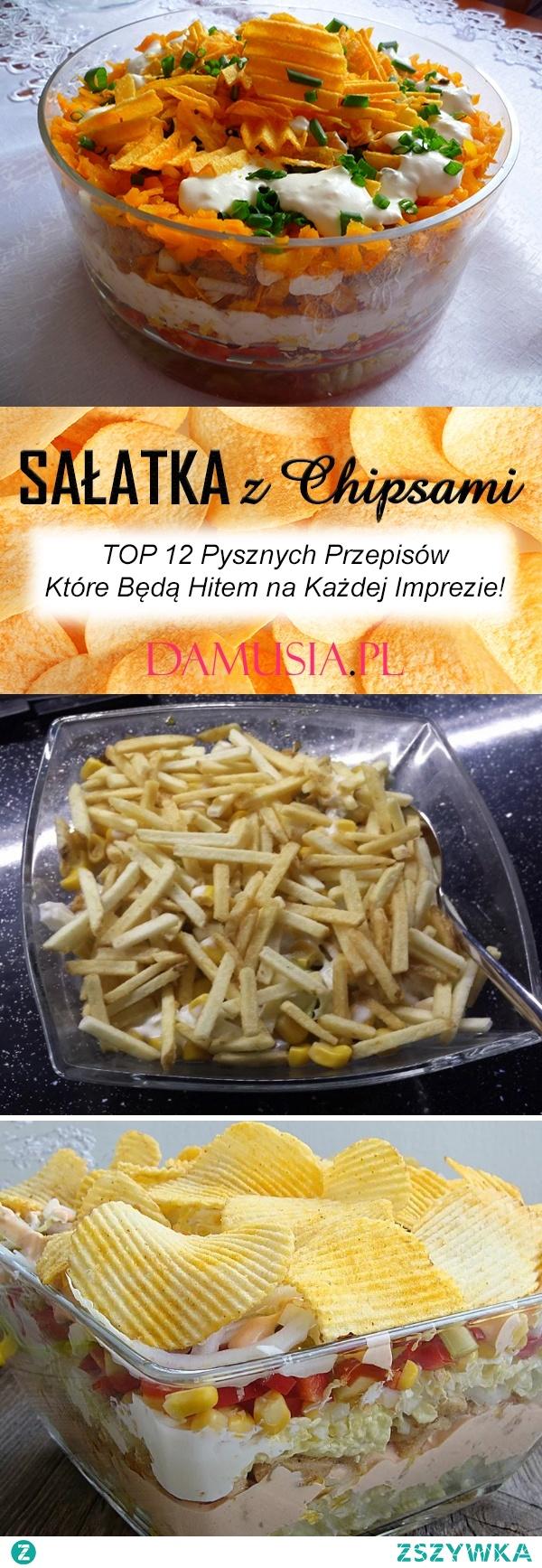Sałatka z Chipsami – TOP 12 Pysznych Przepisów Które Będą Hitem na Każdej Imprezie!