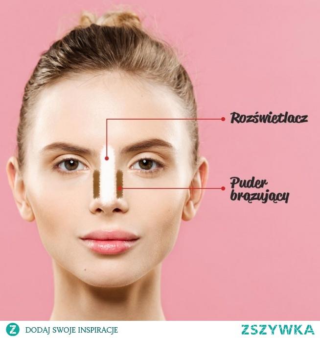 Jak optycznie zwęzić nos