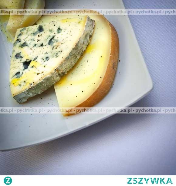 Pasta z niebieskiego sera pleśniowego