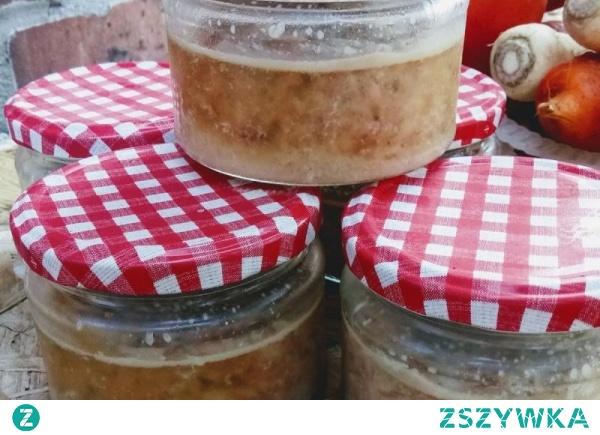 Kiełbasa słoikowa a la wiejska