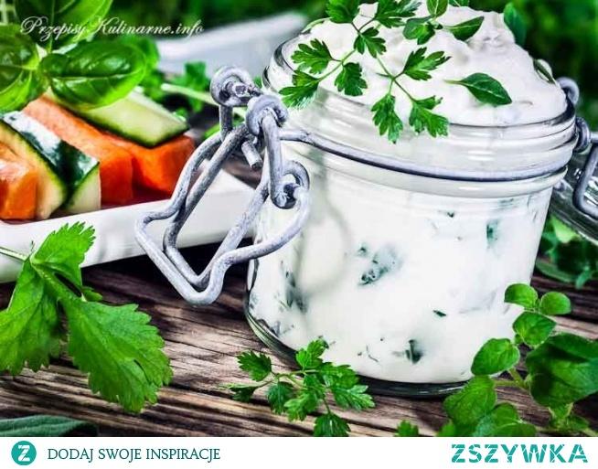 Sos jogurtowo-ziołowy