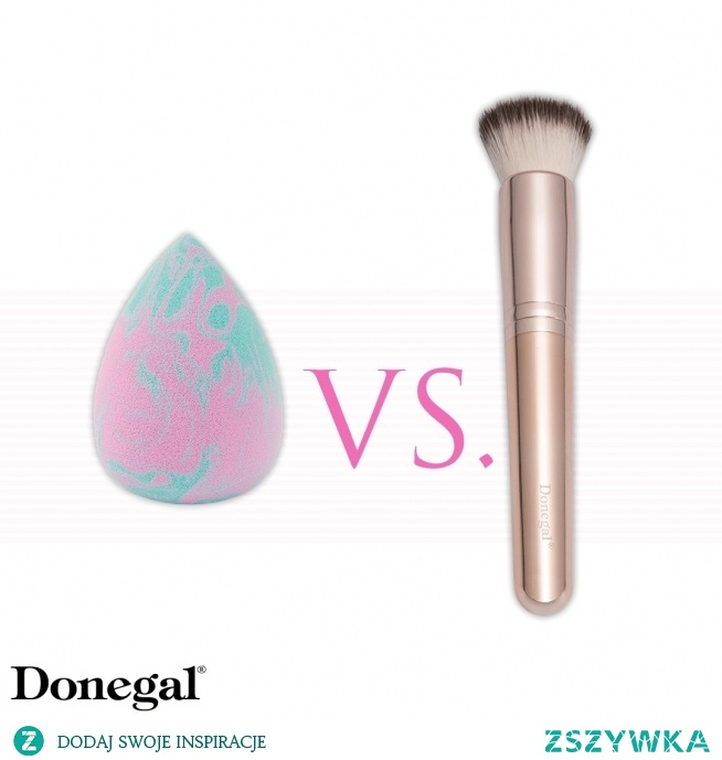 Czym nakładacie podkład: gąbką czy pędzlem?  Beauty by Donegal