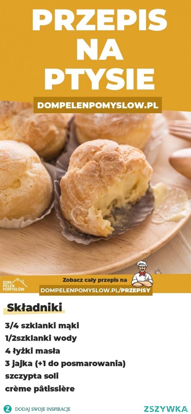 Jak zrobić ptysie z crème pâtissière