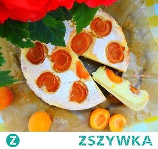 Ciasto Strasburskie z Morelami i Twarogiem.
