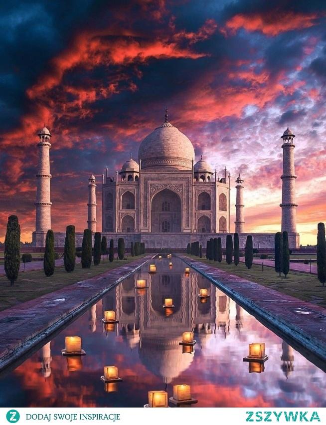 Taj Mahal, Indie