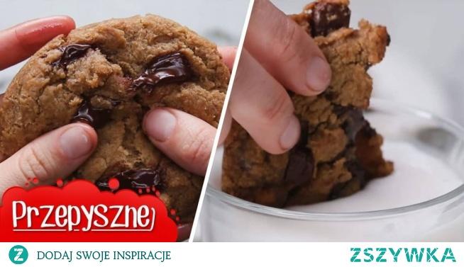 Spróbujcie tych ciastek z rozpływającą się czekoladą! Są pyszne i szybkie!
