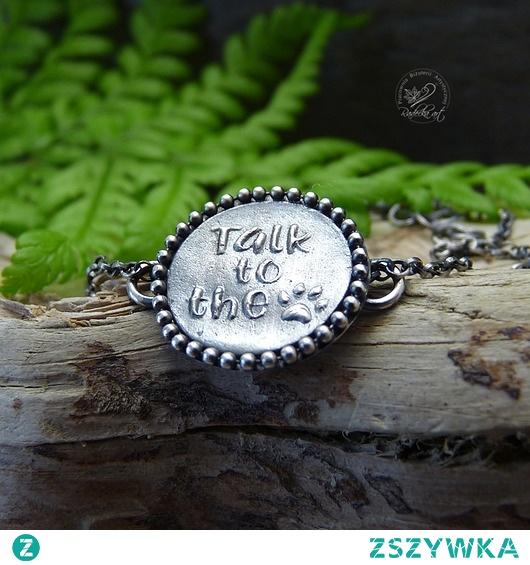 Talk To The...Paw - Bracelet