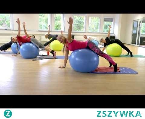 Pilates mit dem Gymnastikball. Teil 2.