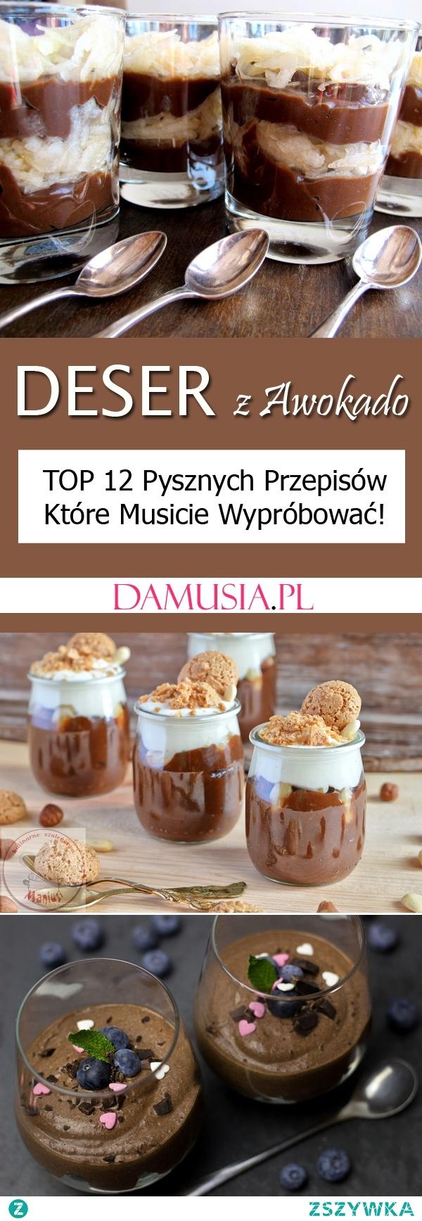 Deser z Awokado – TOP 12 Przepisów Które Musicie Wypróbować!