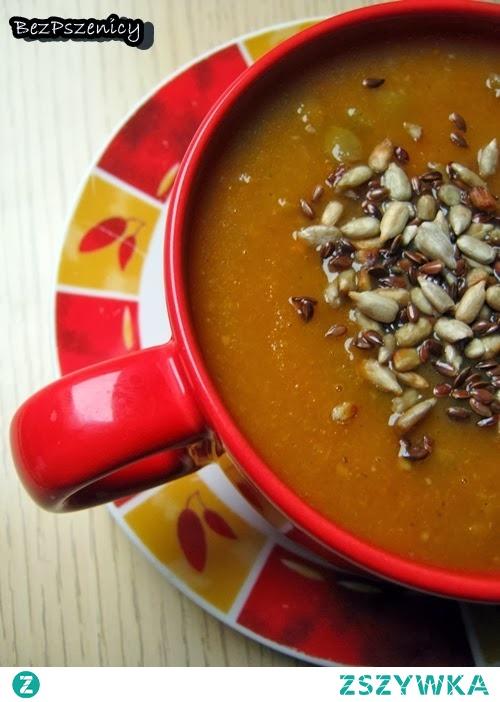 Zupa marchewkowa z soczewicą