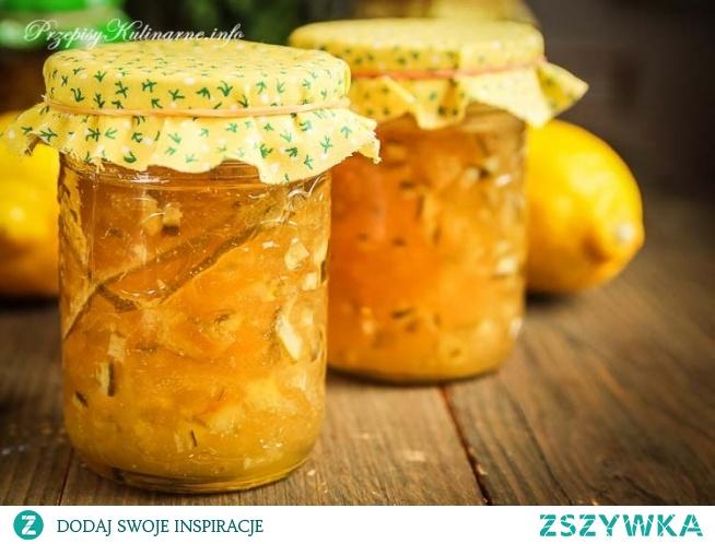 Marmolada z cytryn i jabłek