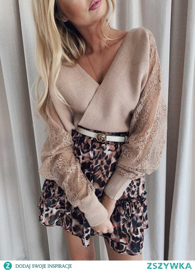 Sweterek kopertowy