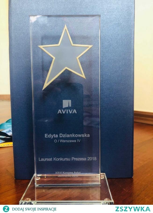 Laureat Konkursu Prezesa AVIVA 2018