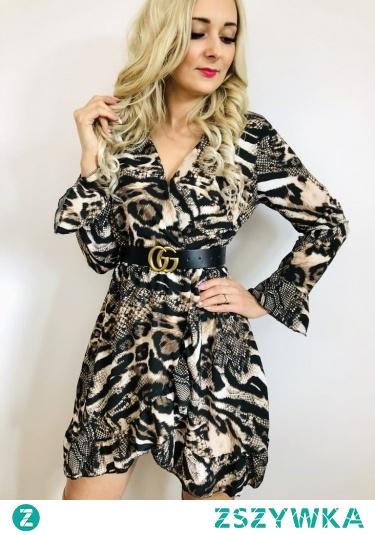 Kopertowe sukienki dostępne online