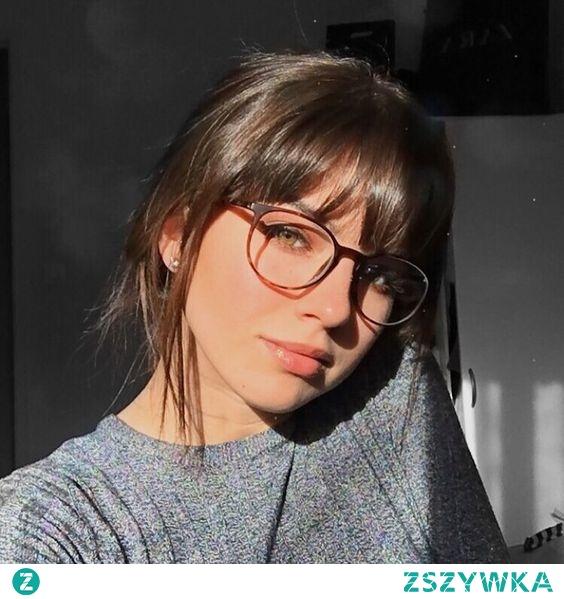 franja para quem usa oculos