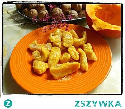 Kluseczki leniwe z pieczonej dyni - Pumpkin Dumplings Recipe - Gnocchi di zucca