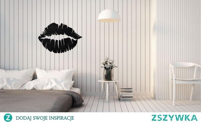 Wykonana z akrylu dekoracja Usta. Producent 4fundesign.com