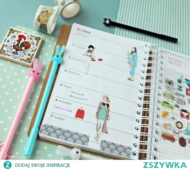 Planner tygodniowy